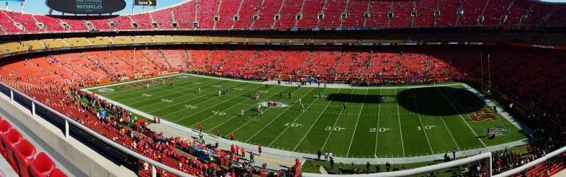 Arrowhead stadium home of kansas city chiefs