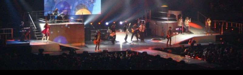Jonas Brothers and Hannah Montana