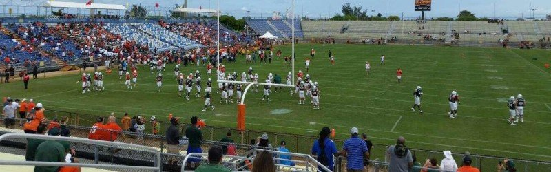Old Lockhart Stadium