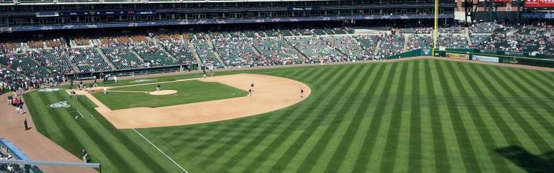 Seat View Reviews From Comerica Park Home Of Detroit Tigers