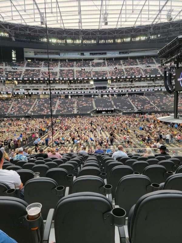 Allegiant Stadium, section: C113, row: 17, seat: 6