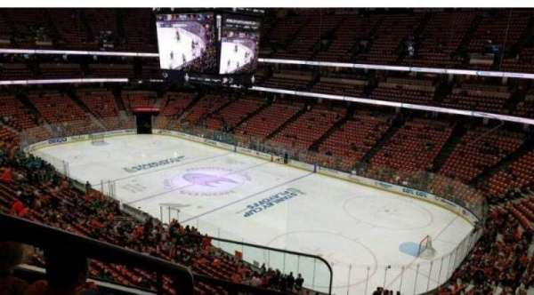Honda Center, section: 430, row: B