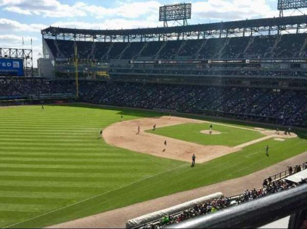 Guaranteed Rate Field, section: 348, row: 1, seat: 12