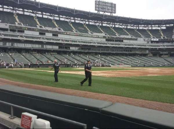 Guaranteed Rate Field, section: 119, row: 1, seat: 7