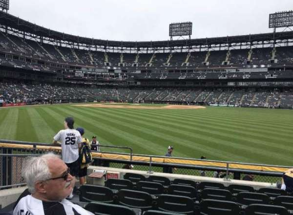 Guaranteed Rate Field, section: 103, row: 8, seat: 15