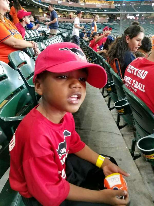 Minute Maid Park, section: 128, row: 16, seat: 13