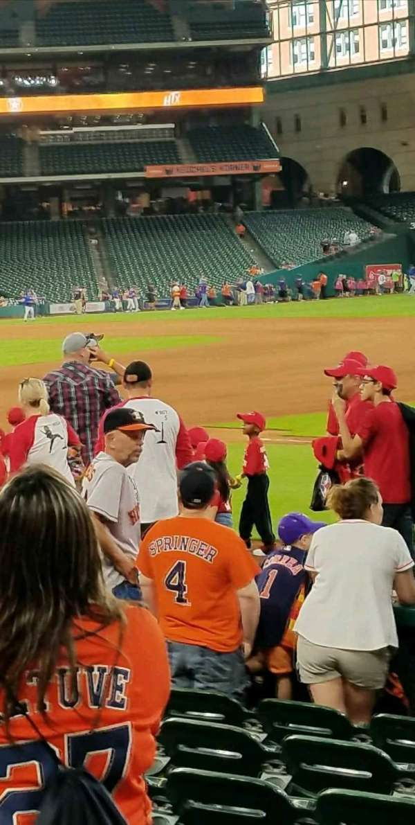 Minute Maid Park, section: 128, row: 16, seat: 14