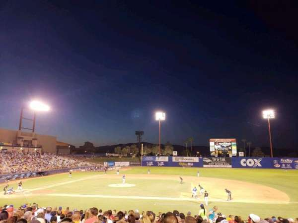 Cashman Field, section: 17, row: U, seat: 17