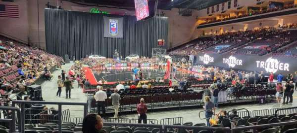 Orleans Arena, section: 111, row: D, seat: 10