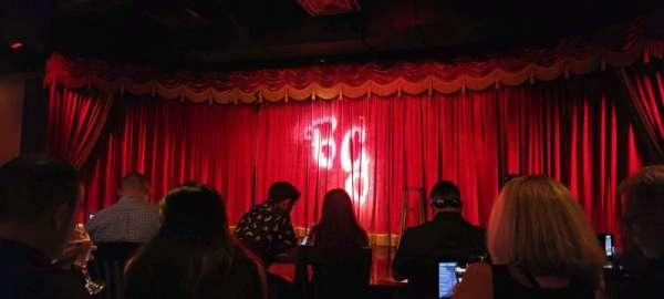 Brad Garrett's Comedy Club, section: Zone 1, row: 3