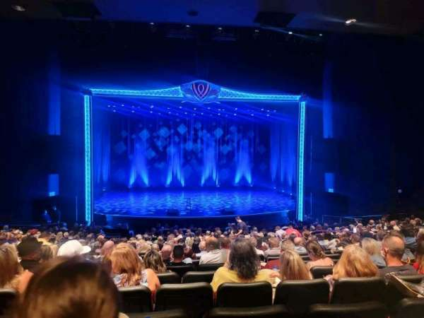 Encore Theatre At Wynn, section: ORCHC, row: U, seat: 117