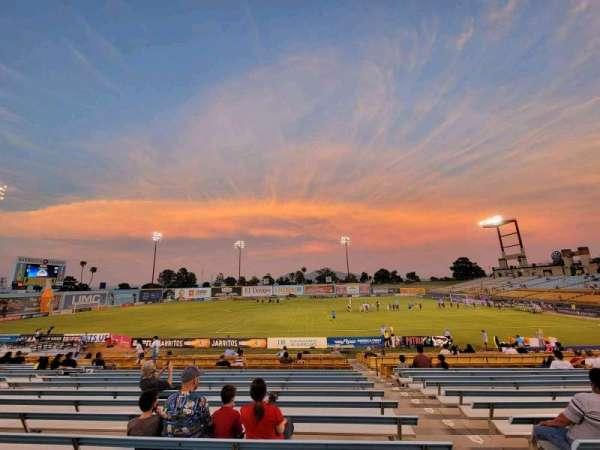 Cashman Field, section: 6, row: U
