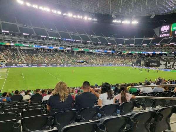 Allegiant Stadium, section: 139, row: 25, seat: 5