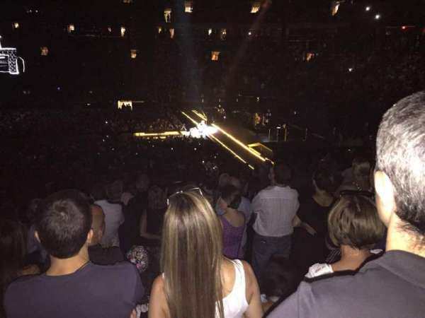 Madison Square Garden, section: 109, row: 19, seat: 15
