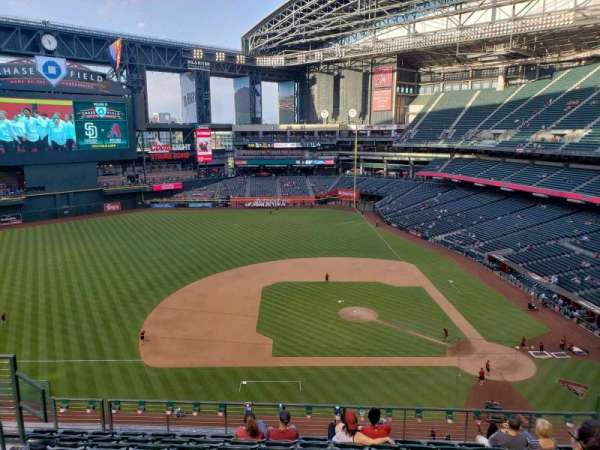 Chase Field, section: 322, row: 9, seat: 10