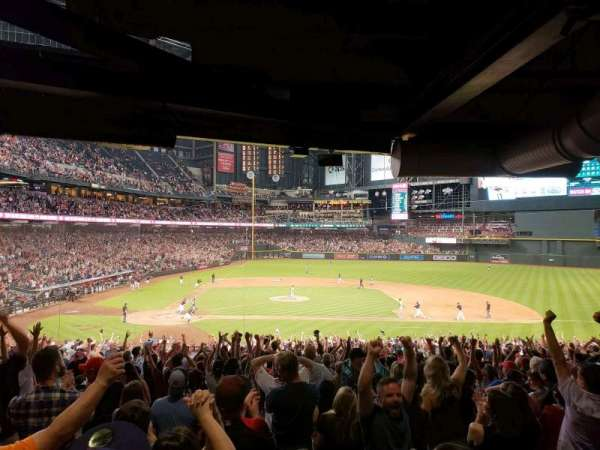 Chase Field, section: 117, row: 39, seat: 11