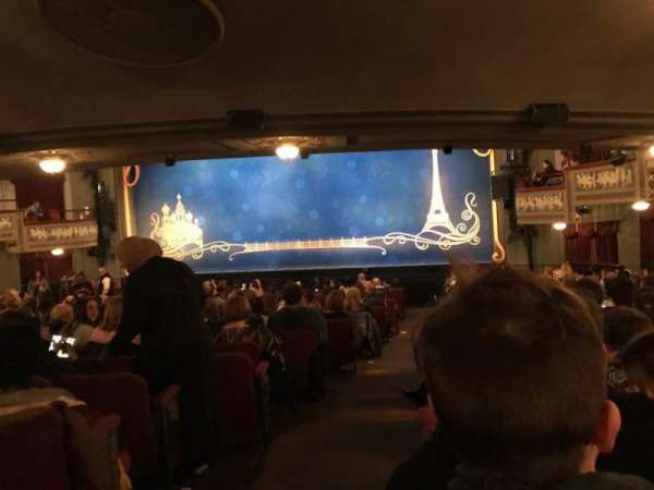 Broadhurst Theatre, section: Orchestra R, row: T, seat: 2