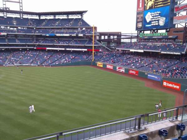 Citizens Bank Park, section: 202, row: 2, seat: 7