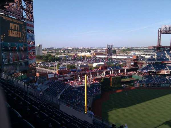 Citizens Bank Park, section: 432, row: 15, seat: 7