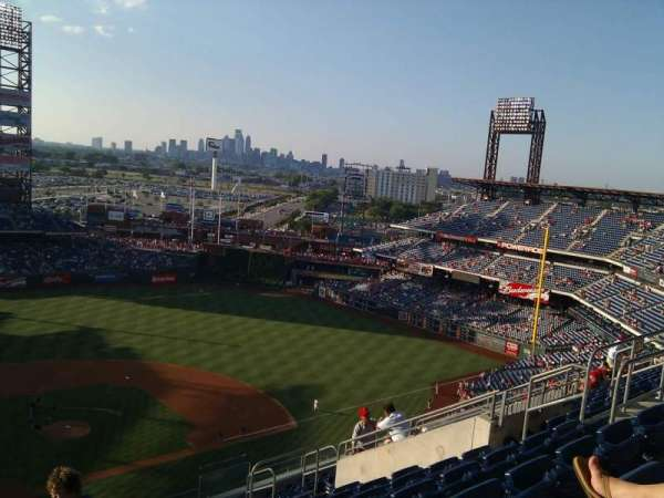 Citizens Bank Park, section: 418, row: 13, seat: 14
