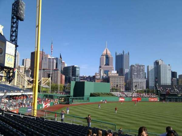 PNC Park, section: 130, row: q, seat: 23