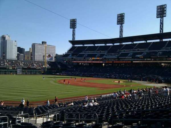 PNC Park, section: 129, row: q, seat: 9