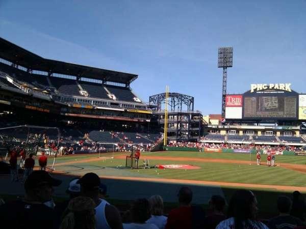 PNC Park, section: 11, row: l, seat: 12