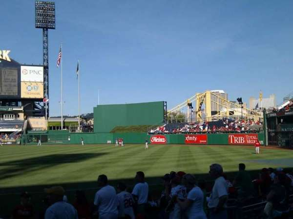 PNC Park, section: 5, row: j, seat: 11