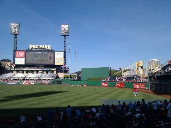PNC Park, section: 103, row: d, seat: 20