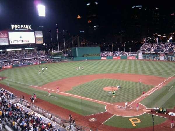PNC Park, section: 217, row: a, seat: 12