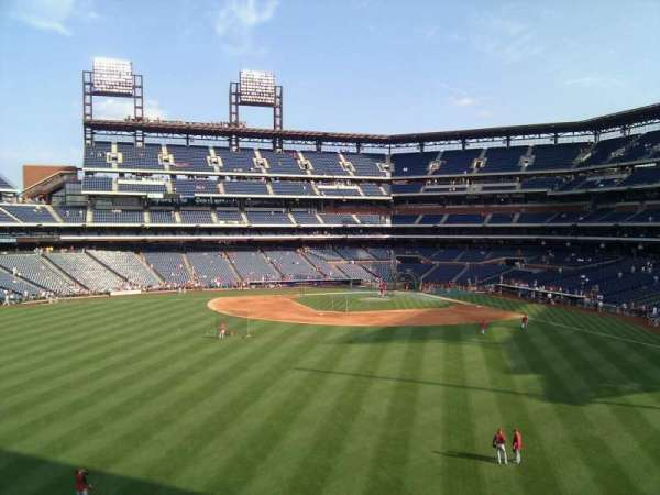 Citizens Bank Park, section: 245, row: 2, seat: 13