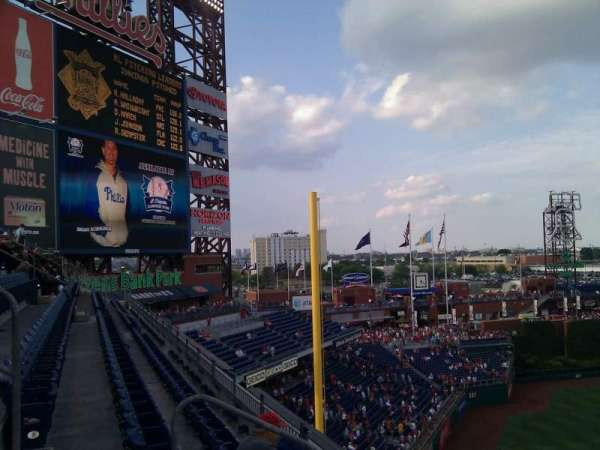 Citizens Bank Park, section: 331, row: 3, seat: 19