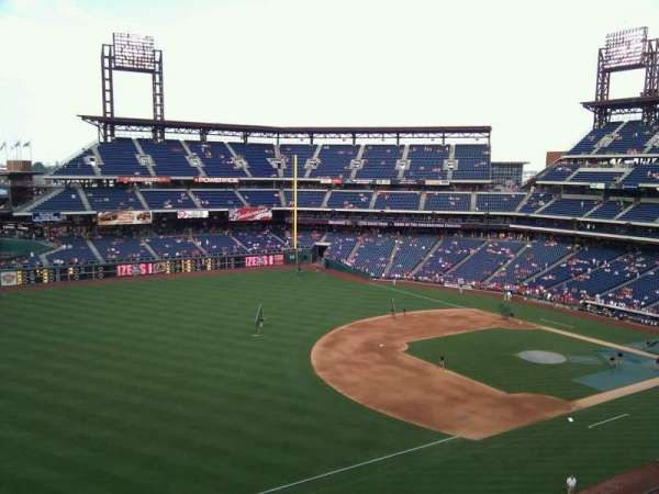 Citizens Bank Park, section: 330, row: 3, seat: 20