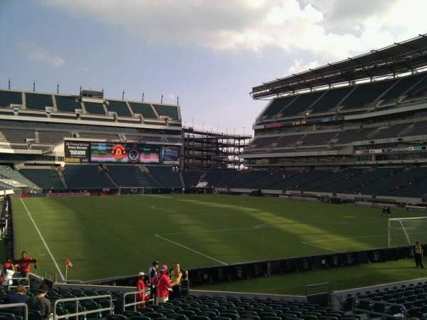 Lincoln Financial Field, section: 127, row: 19, seat: 13