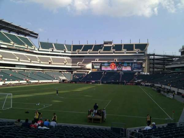 Lincoln Financial Field, section: 131, row: 17, seat: 7