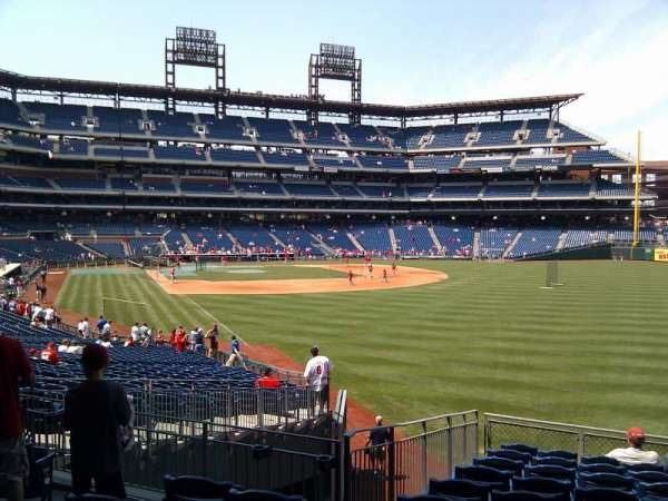 Citizens Bank Park, section: 107, row: 35, seat: 19