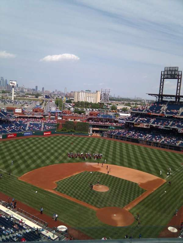 Citizens Bank Park, section: 422, row: 6, seat: 11