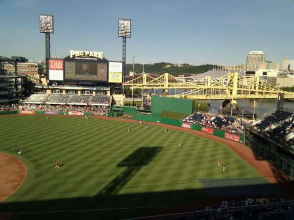 PNC Park, section: 307, row: a, seat: 15