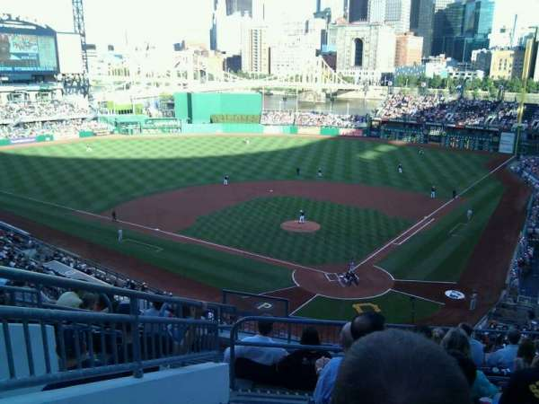 PNC Park, section: 217, row: j, seat: 17