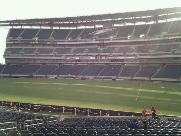 Lincoln Financial Field, section: 123, row: 23, seat: 14