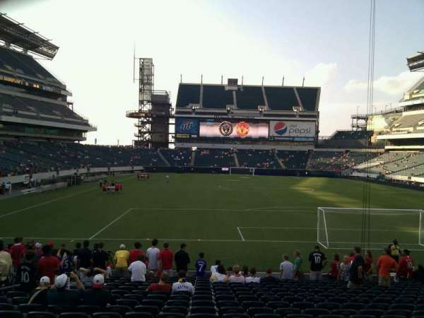 Lincoln Financial Field, section: 110, row: 18, seat: 24