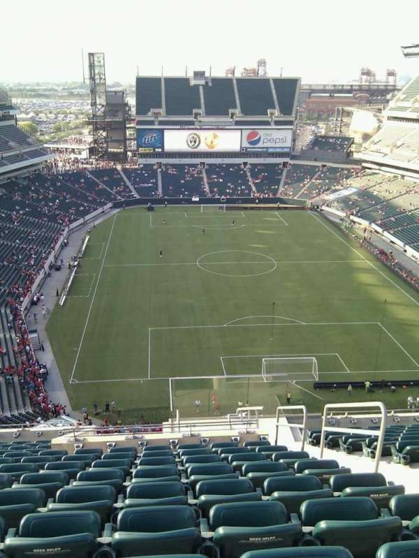 Lincoln Financial Field, section: 211, row: 17, seat: 4