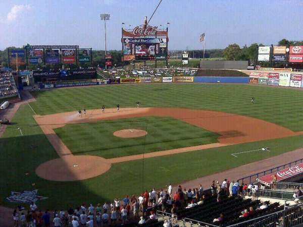 Coca-Cola Park, section: 311, seat: 8