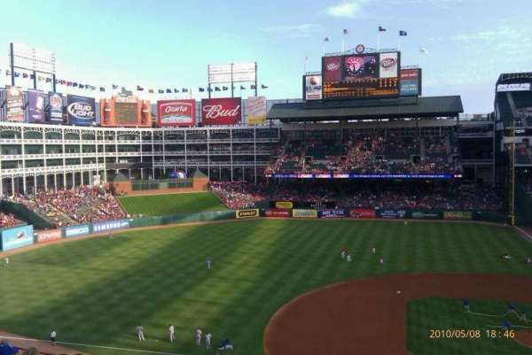 Globe Life Park in Arlington, section: 219