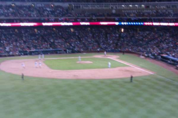 Globe Life Park in Arlington, section: 3
