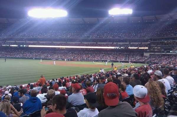 Angel Stadium, section: F105, row: R, seat: 1