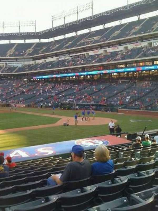 Globe Life Park in Arlington, section: 19, row: 16, seat: 10