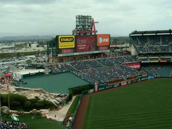 Angel Stadium, section: 507