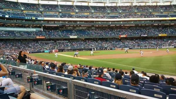 Yankee Stadium, section: 111, row: 13, seat: 6