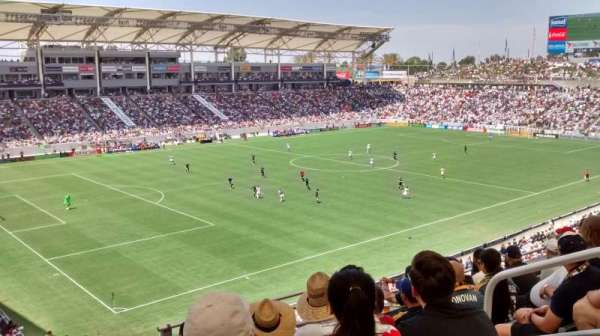 StubHub Center, section: 238, row: GG